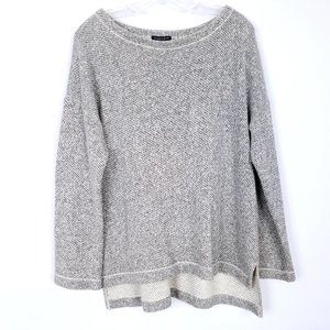 EILEEN FISHER Thick Organic Cotton Sweater High Lo